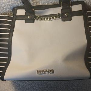 Kenneth Cole black and white shoulder bag